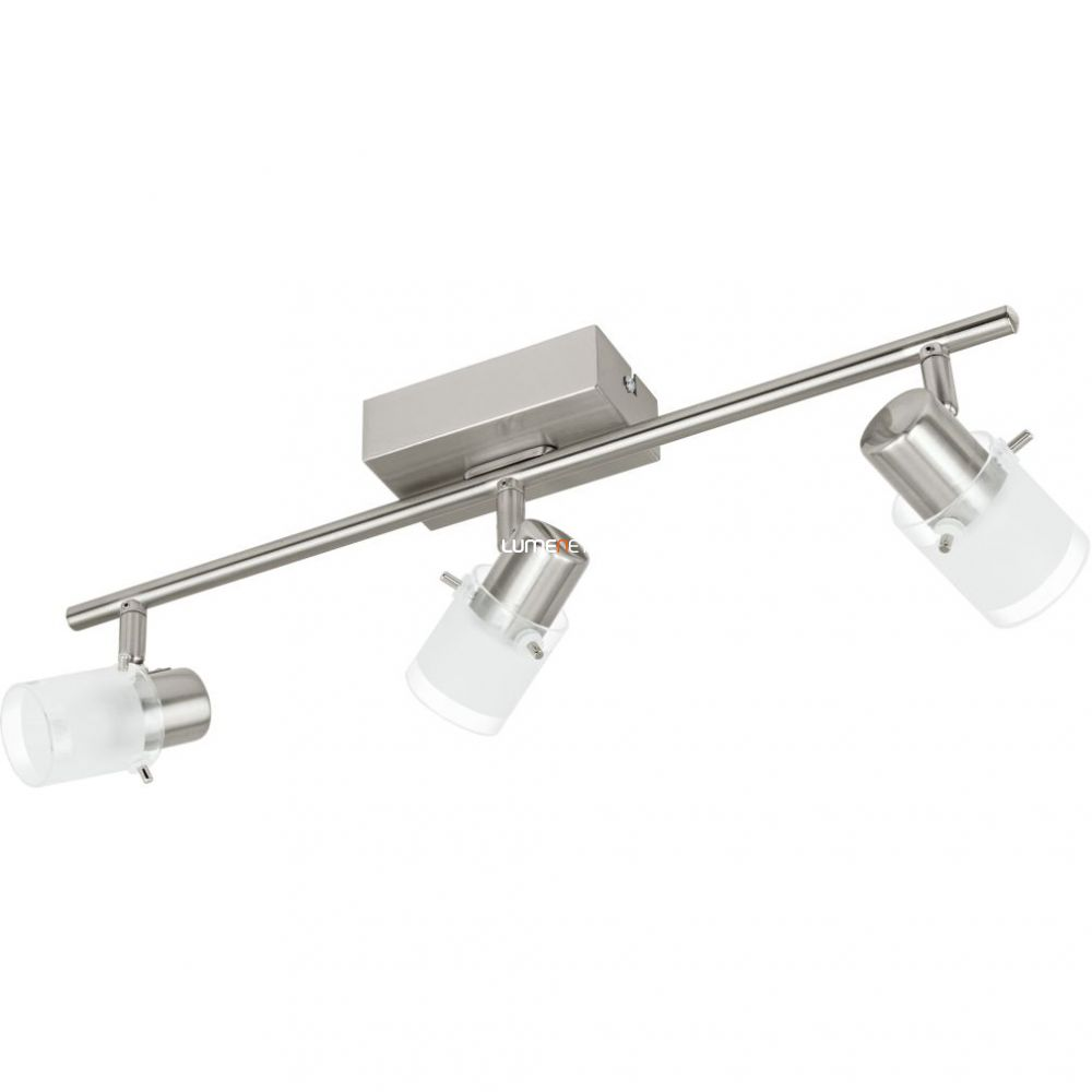EGLO 93703 LED-es fali/Mennyezeti lámpa 3x3,3W matt nikkel/szatin üveg 48,5cm Orvieto 1