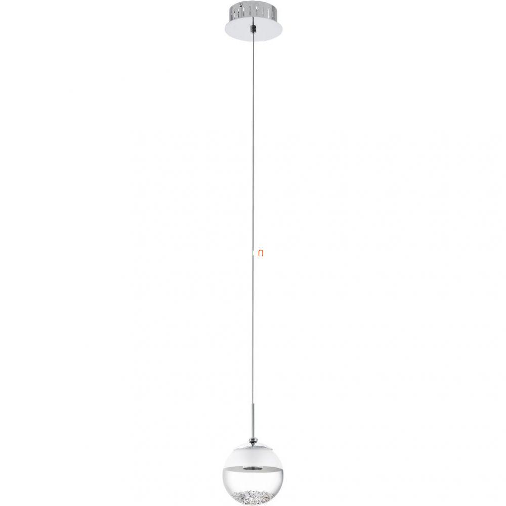 EGLO 93708 LED-es Függeszték 1x5W króm d:14cm Montefio 1