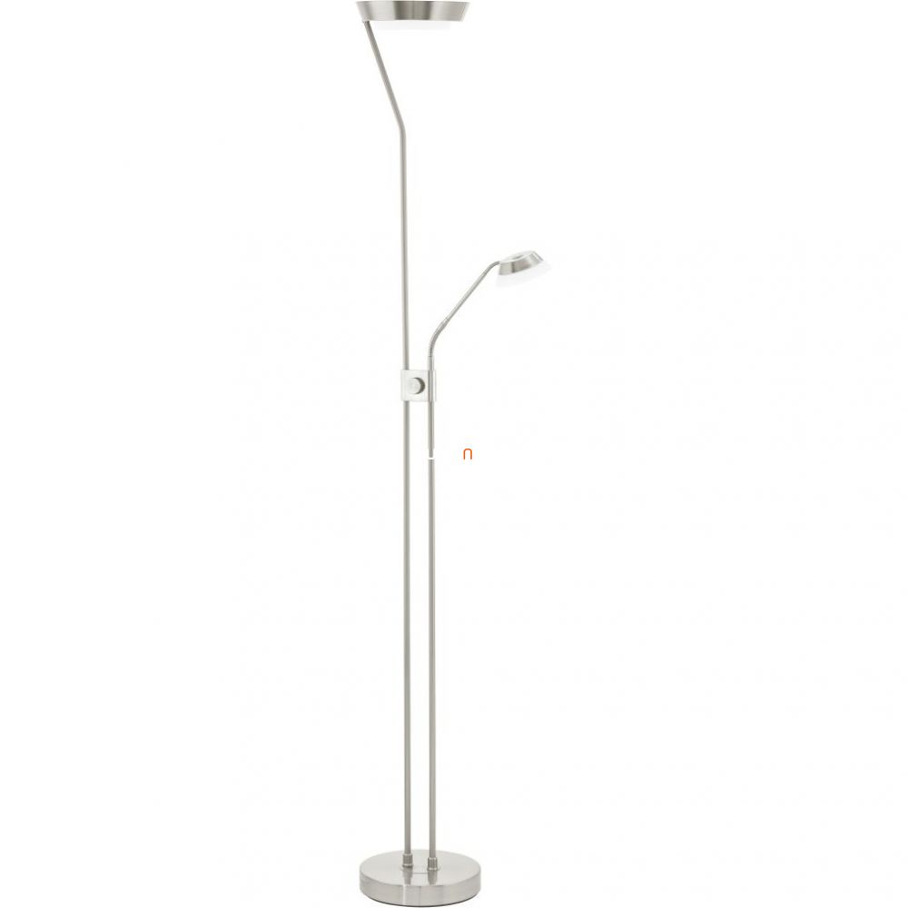 EGLO 93713 LED-es Állólámpa 17,28W/2,88W/5,76W m:180cm d:25cm matt nikkel Sarrione