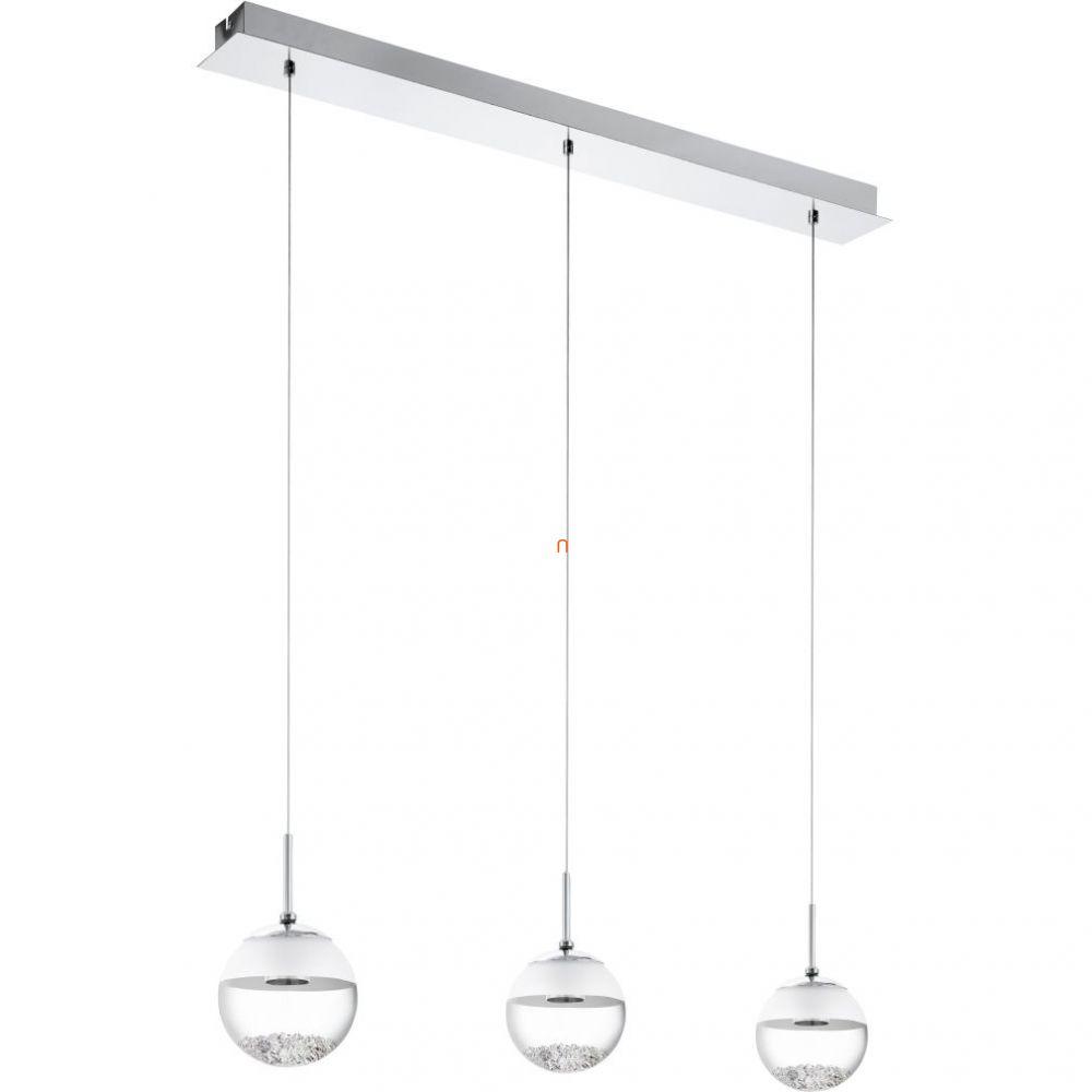 EGLO 93784 LED-es függeszték 3x5W króm szögletes 87x14cm Montefio 1