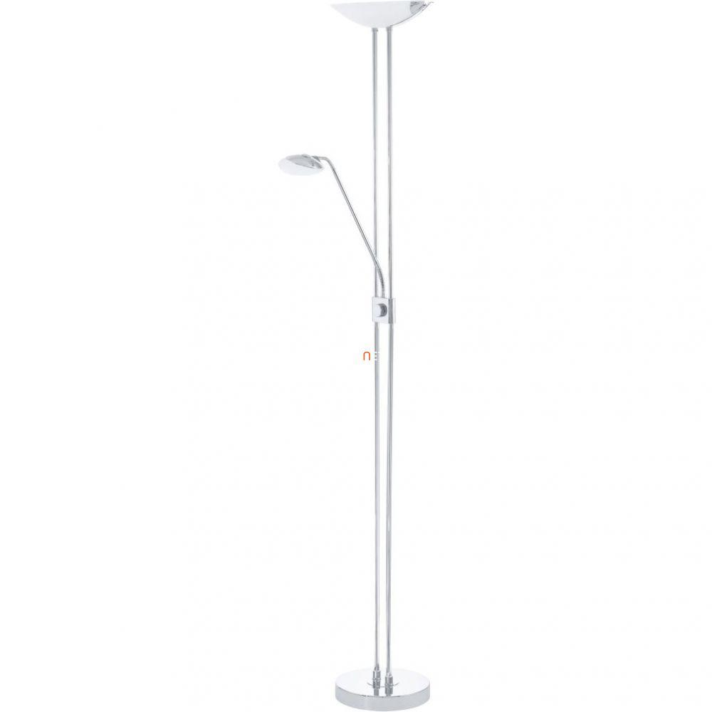 EGLO 93875 LED-es álló 20W/2,5W/2,5W olvasókarral m:180cm sz:36cm króm BAYA LED
