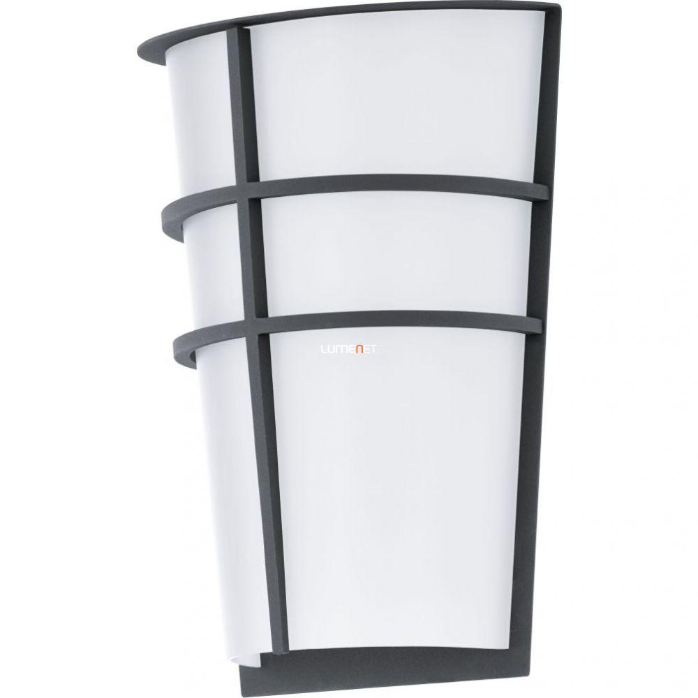 EGLO 94138 LED-es kültéri fali 2x2,5W IP44 antracit/fehér Breganzo