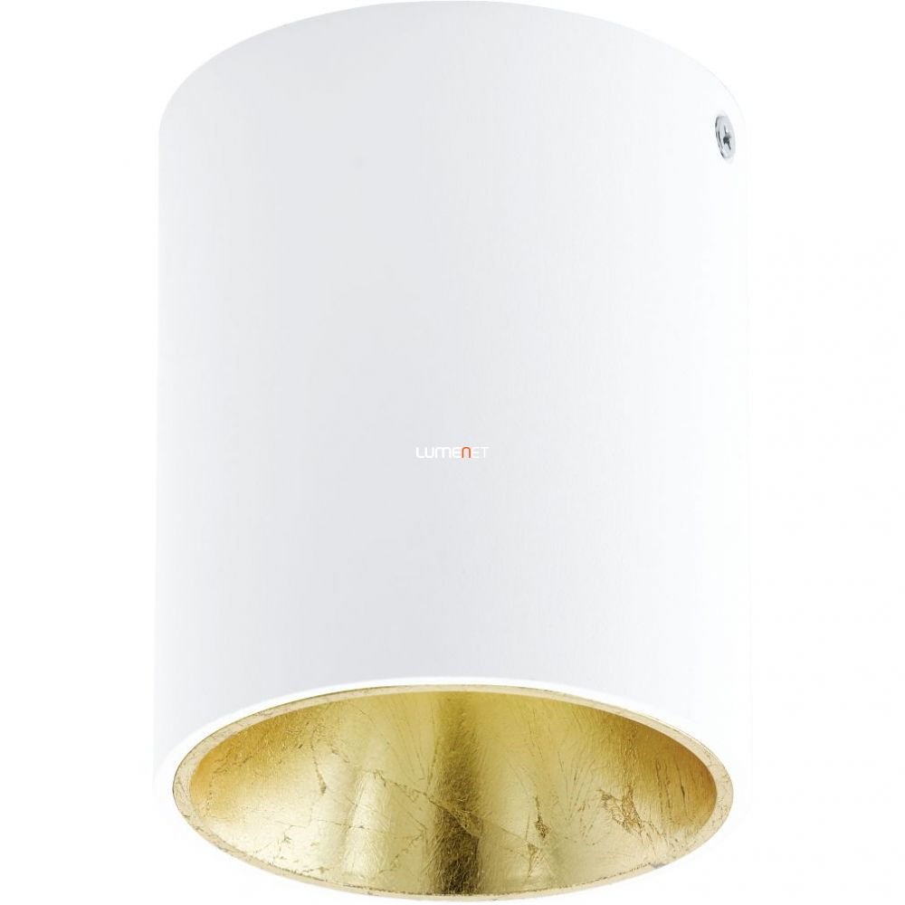 EGLO 94503 Led mennyezeti 1x3,3W fehér/arany kerek Polasso