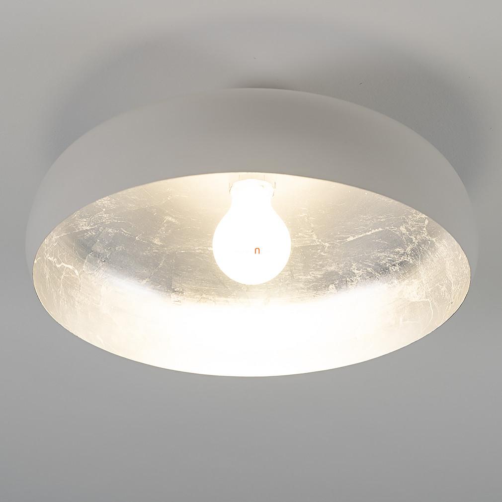EGLO 94548 mennyezeti E27 60W fehér/ezüst 40cm Mogano