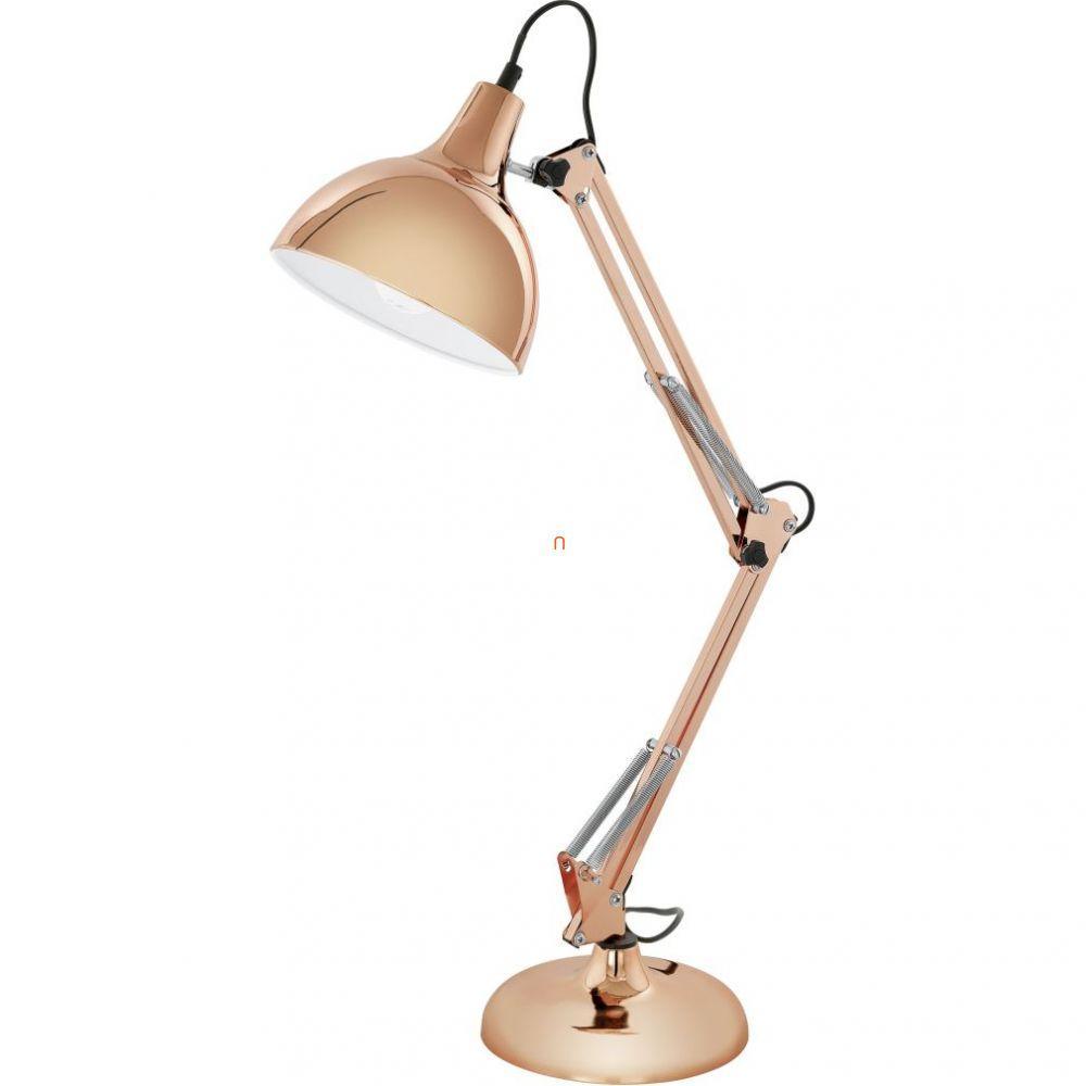 EGLO 94704 Asztali lámpa 1xE27 max. 60W réz Borgillio