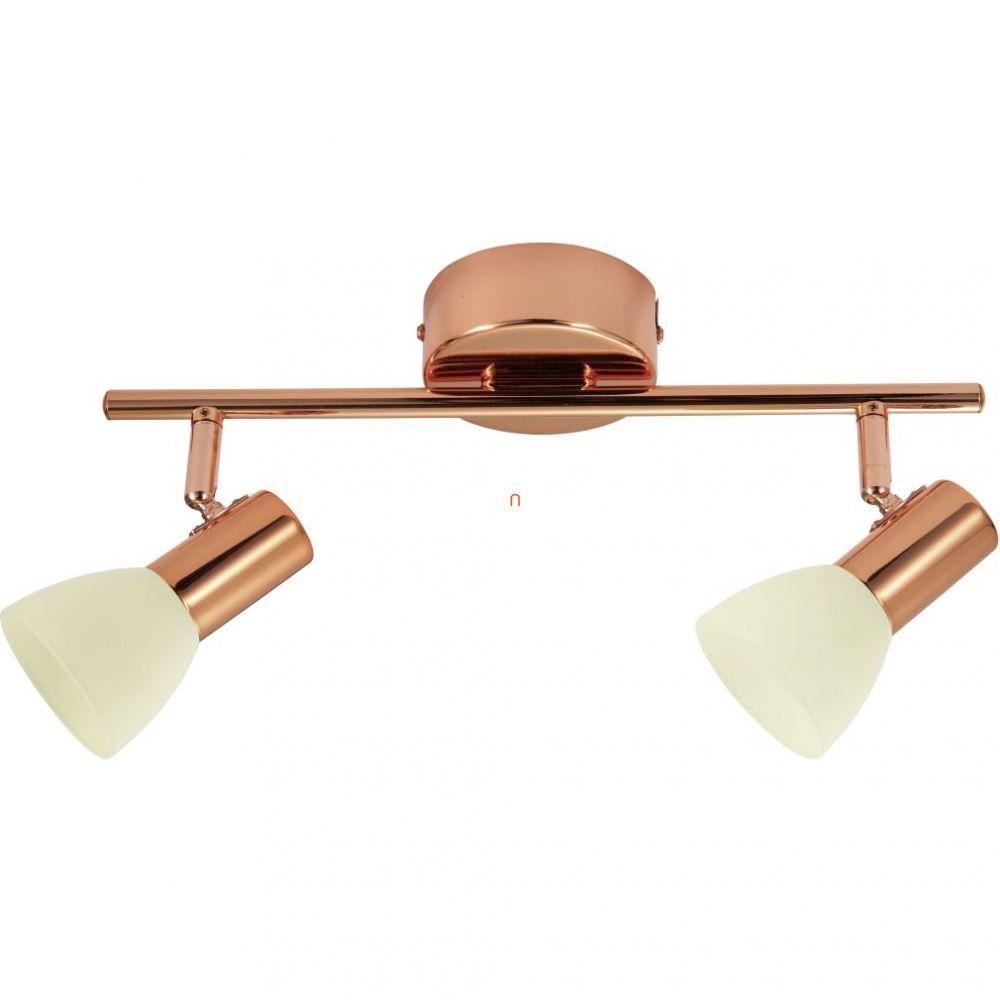 EGLO 94737 Glossy 2 fali/mennyezeti LED lámpa 2x5W réz/pezsgő