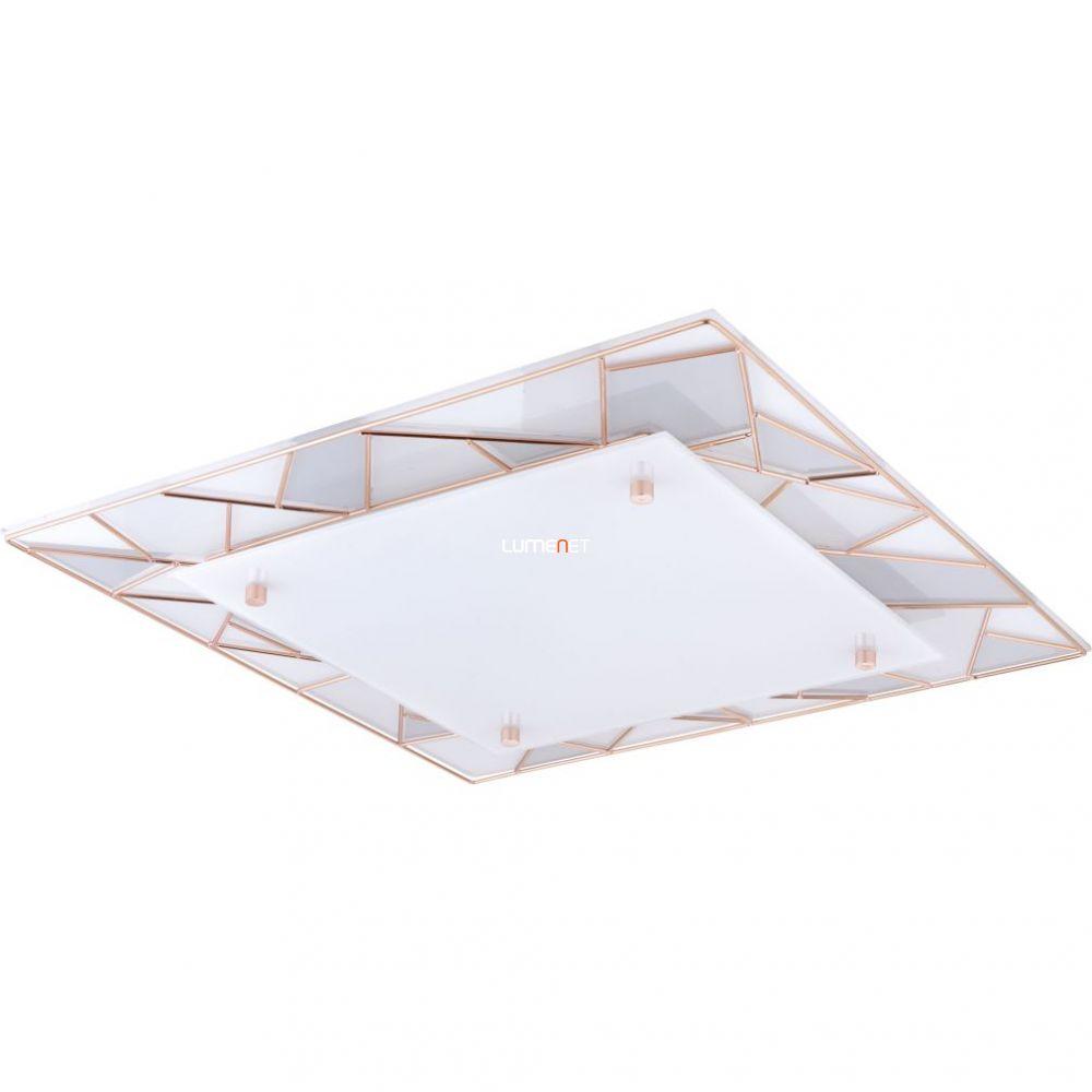 Eglo 94747 LED mennyezeti 9,7W 45x45 cm réz Pancento
