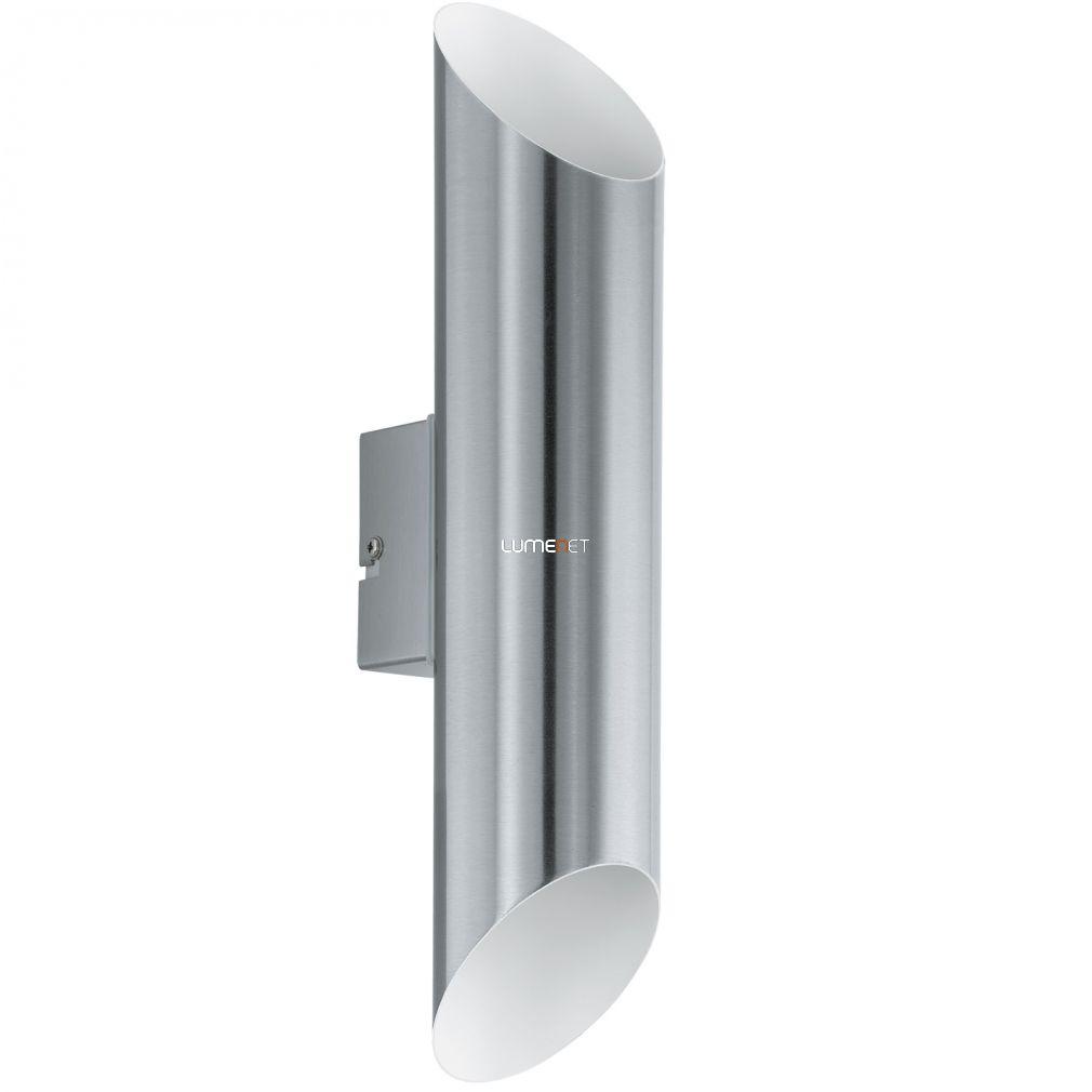 EGLO 94803 kültéri LED-es fali 2x3,7W nemesacél/fehér Agolada