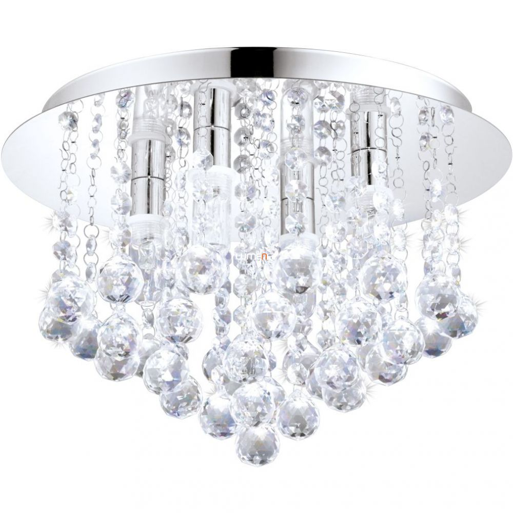 EGLO 94878 LED mennyezeti G9 LED 4x2,5W króm/kristály Almonte