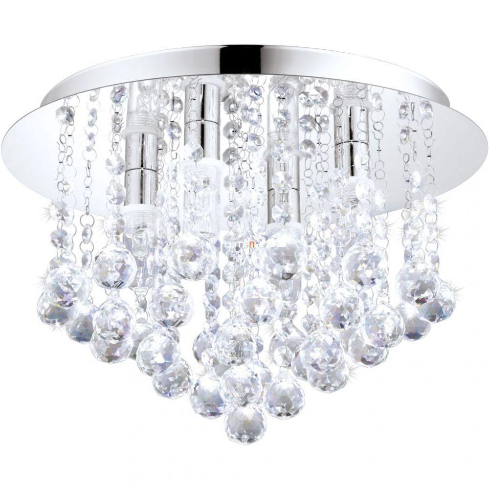 EGLO 94878 LED mennyezeti lámpa G9 LED 4x2,5W 1200lm króm/kristály Almonte