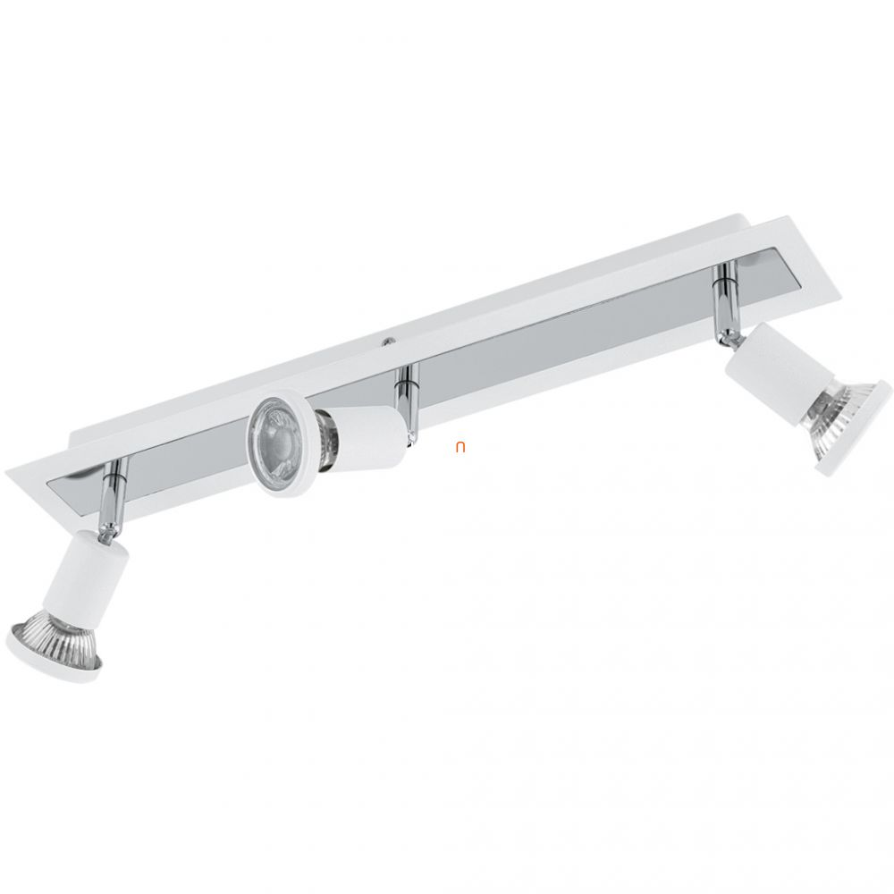 EGLO 94961 LED-es fali/mennyezeti lámpa GU10 3x5W fehér/króm Sarria