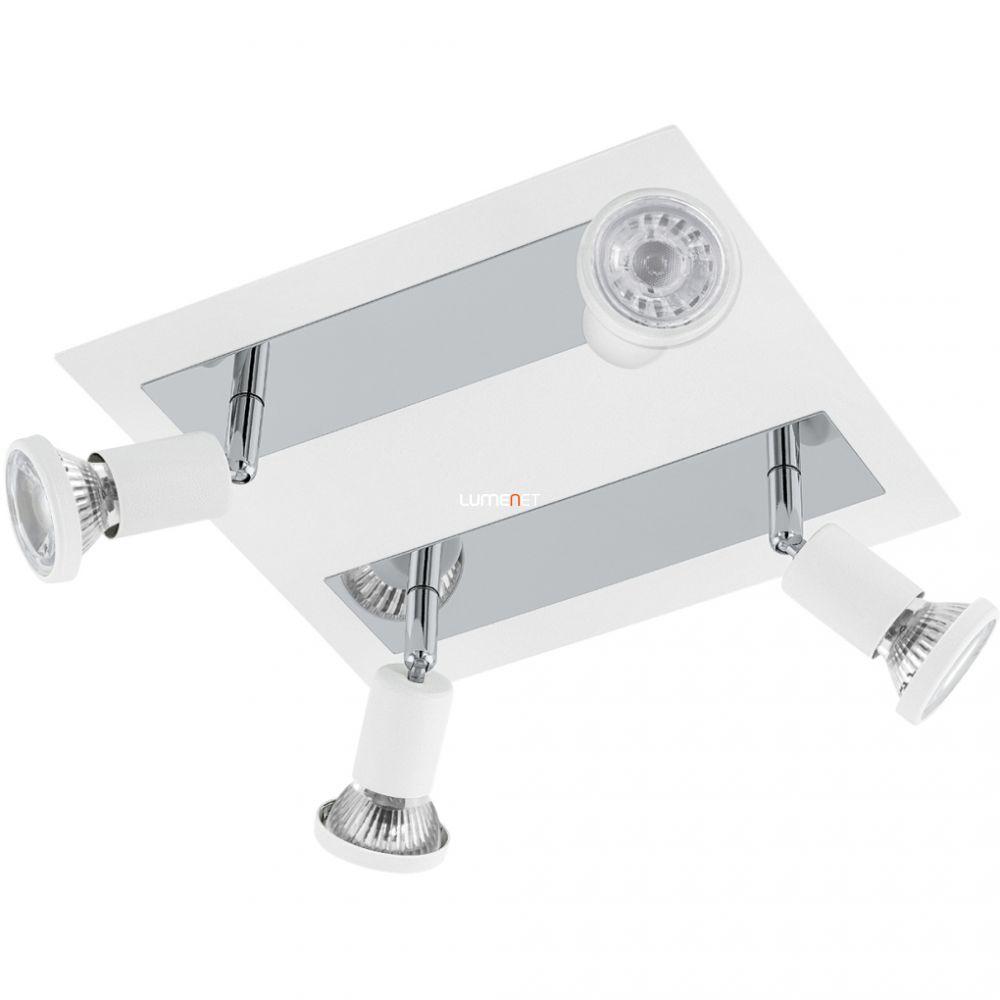 EGLO 94962 LED-es mennyezeti lámpa GU10 4x5W fehér/króm Sarria