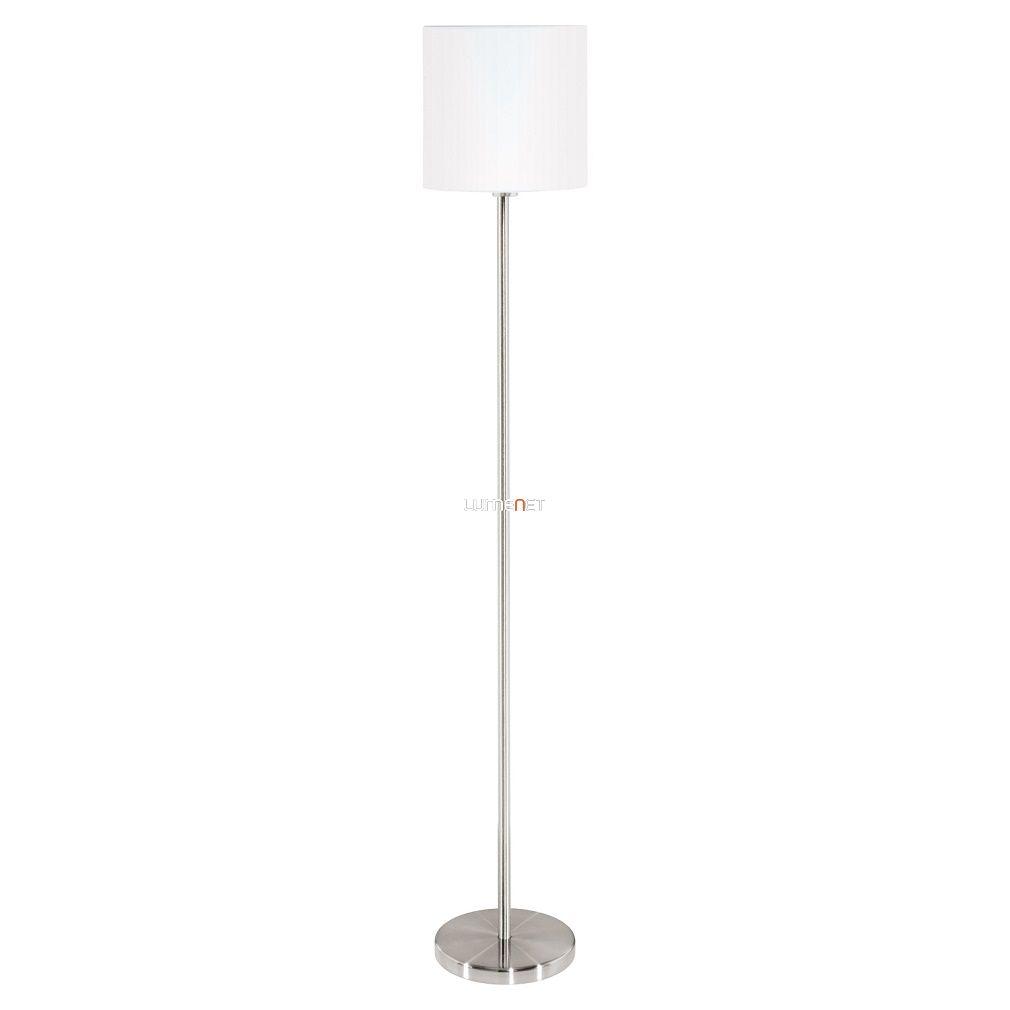 Eglo 95164 Pasteri fehér textil állólámpa 1xE27 foglalattal