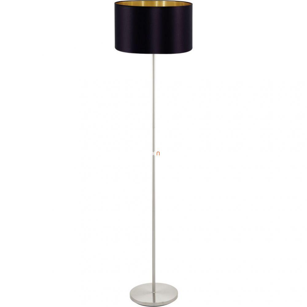 EGLO 95169 Textil álló E27 60W fekete/arany Maserlo