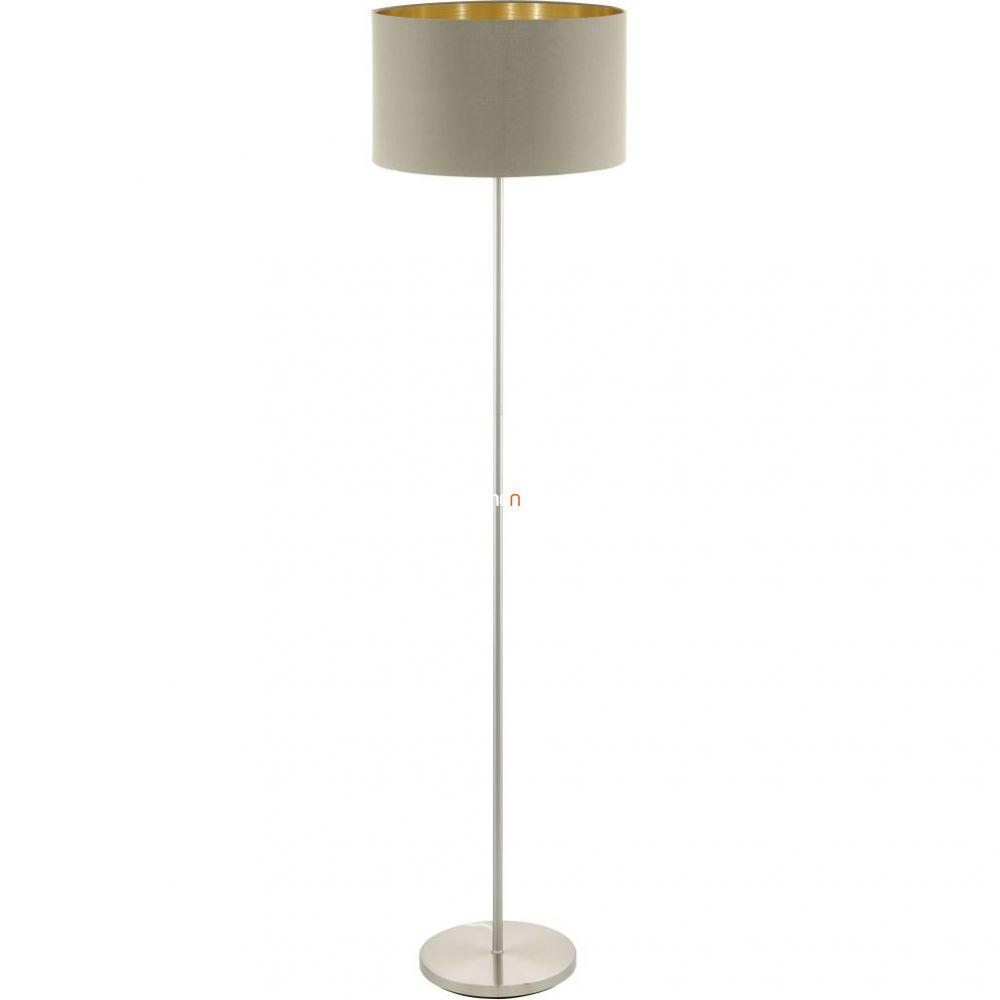 Eglo 95171 Maserlo tóp-arany textil állólámpa 1xE27 foglalattal