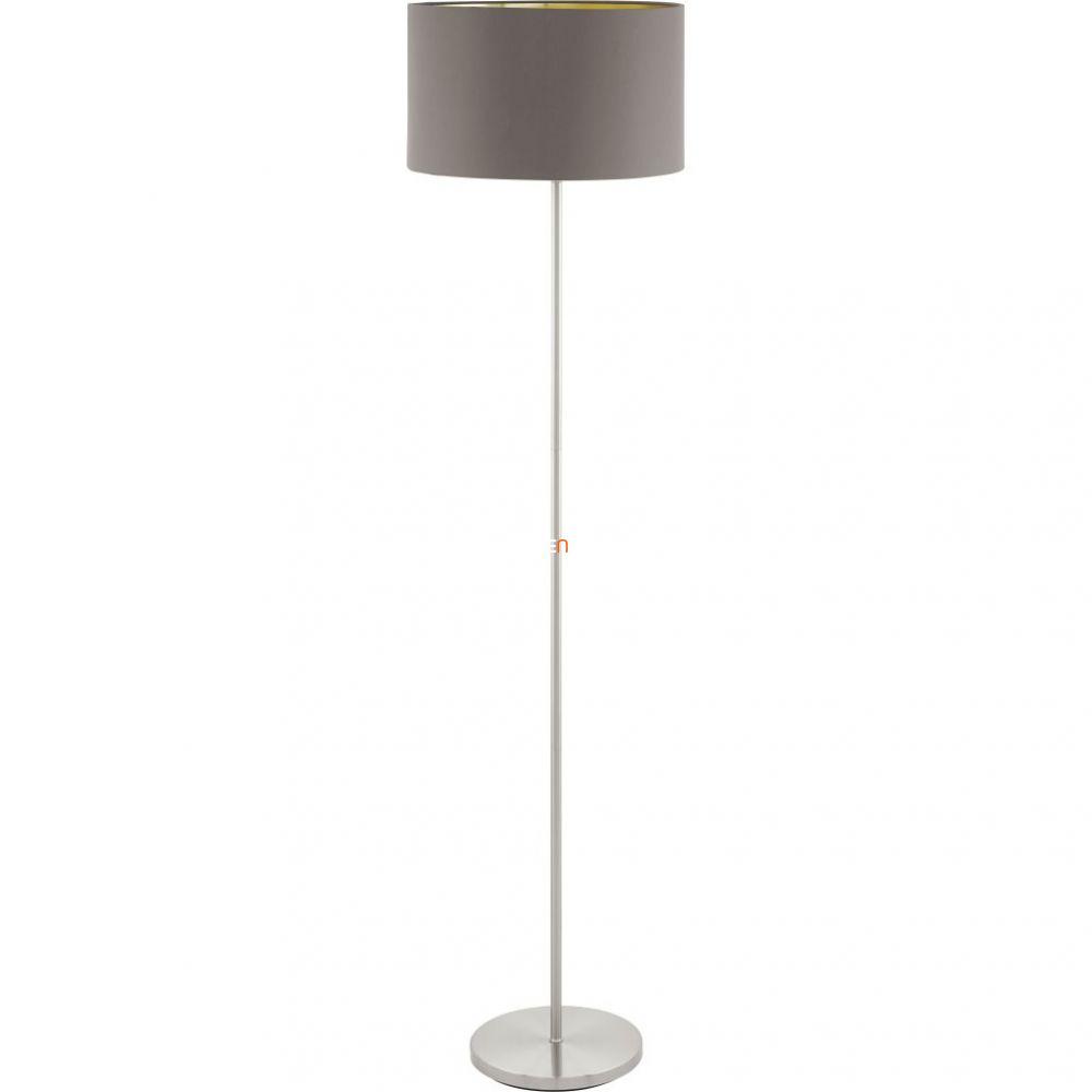 Eglo 95172 Maserlo capuccino-arany textil állólámpa 1xE27 foglalattal