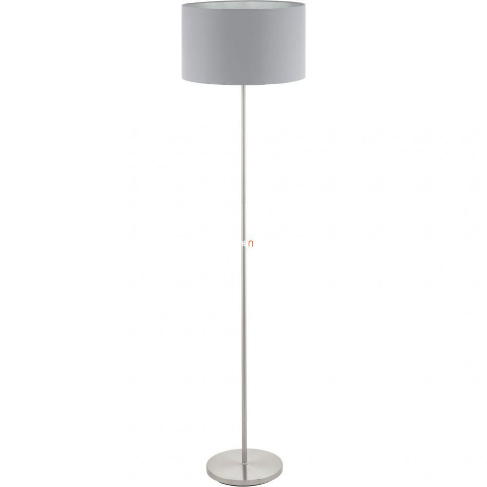 Eglo 95173 Maserlo szürke textil állólámpa 1xE27 foglalattal