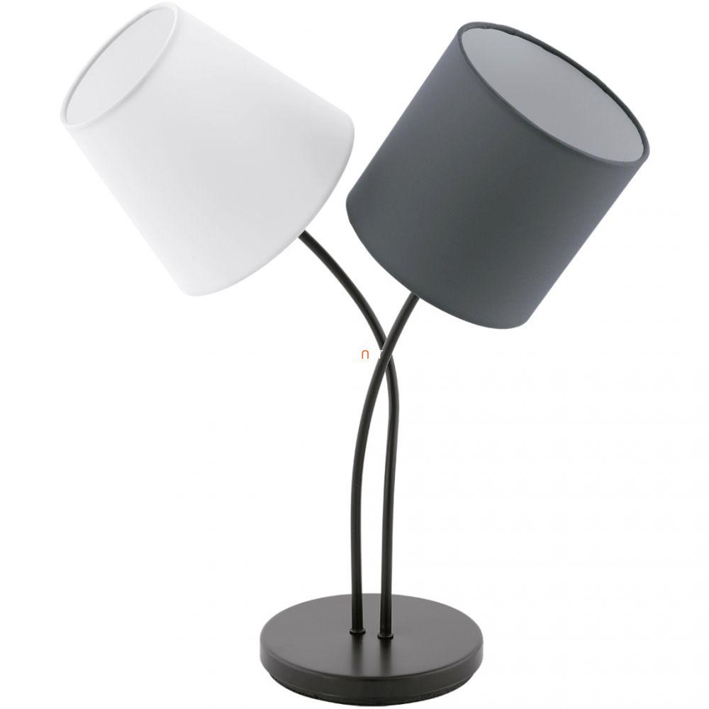 EGLO 95194 asztali lámpa 2xE14 max. 40W fehér/antracit Almeida