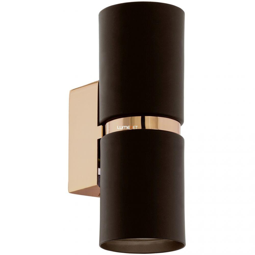EGLO 95371 LED-es fali lámpa GU10 2x4W barna/réz Passa