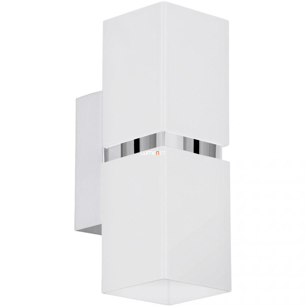 EGLO 95377 LED-es fali lámpa GU10 2x4W szögletes króm/fehér Passa