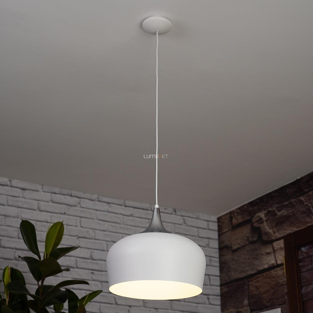 EGLO 95384 függeszték 1xE27 max. 60W fehér/króm Obregon