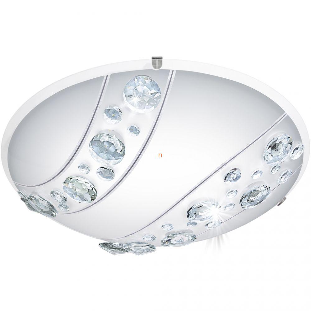 EGLO 95576 LED-es mennyezeti lámpa 16W fehér/kristály Nerini