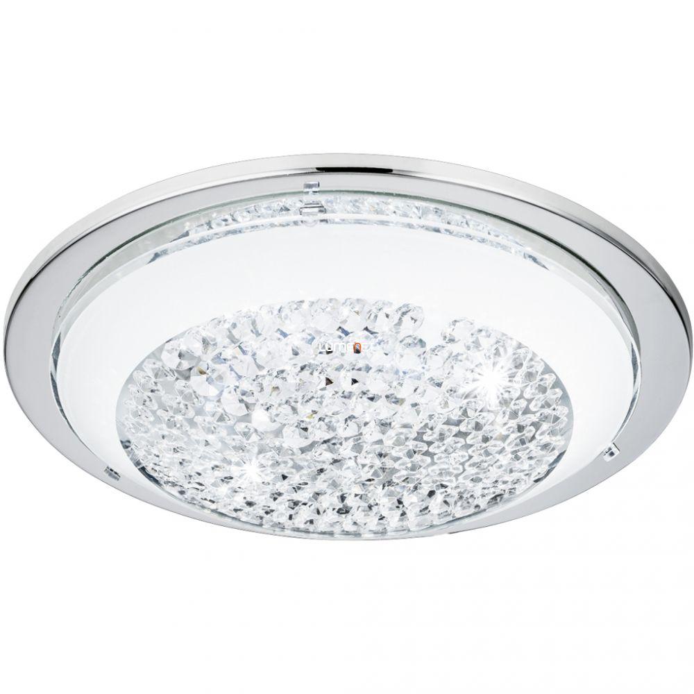 EGLO 95639 LED-es mennyezeti lámpa 8,2W 29cm króm/fehér Acolla