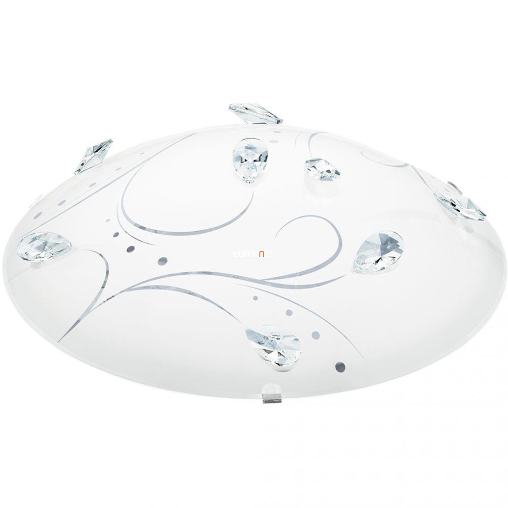 EGLO 95689 LED-es mennyezeti lámpa 16W fehér/kristály Sorrenta1