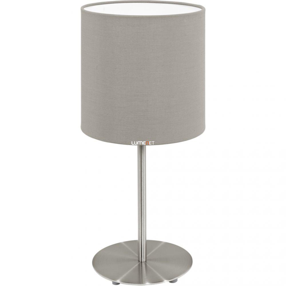 EGLO 95726 asztali lámpa 1xE14 max. 40W matt nikkel/szürkésbarna Pasteri