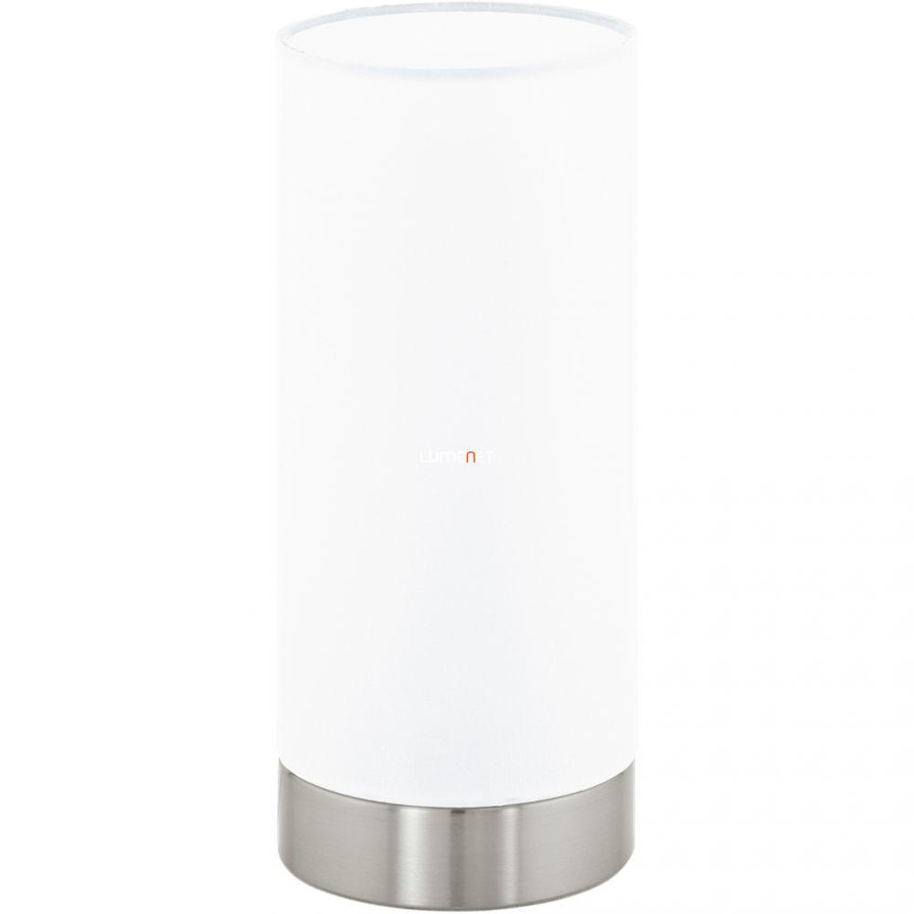 EGLO 95775 asztali lámpa 1xE27 max. 60W matt nikkel/fehér Damasco