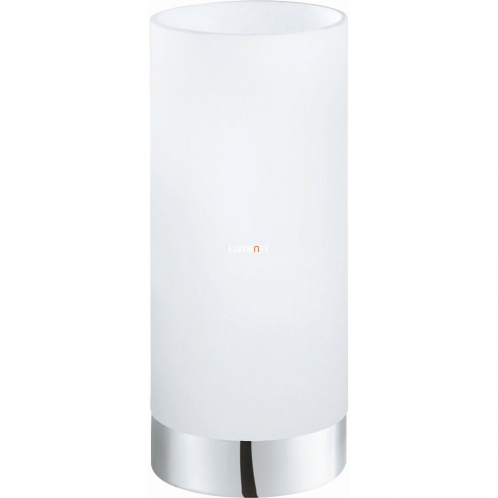 EGLO 95776 asztali lámpa 1xE27 max. 60W króm/fehér Damasco