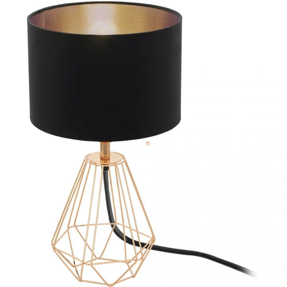 EGLO 95787 asztali lámpa 1xE14 max. 60W vörösréz/fekete Carlton2