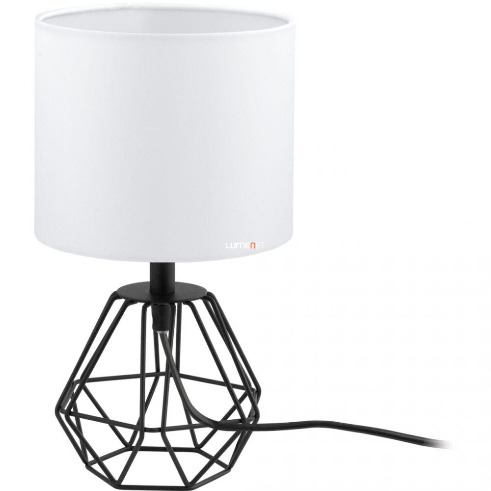EGLO 95789 asztali lámpa 1xE14 max. 60W fekete/fehér Carlton2