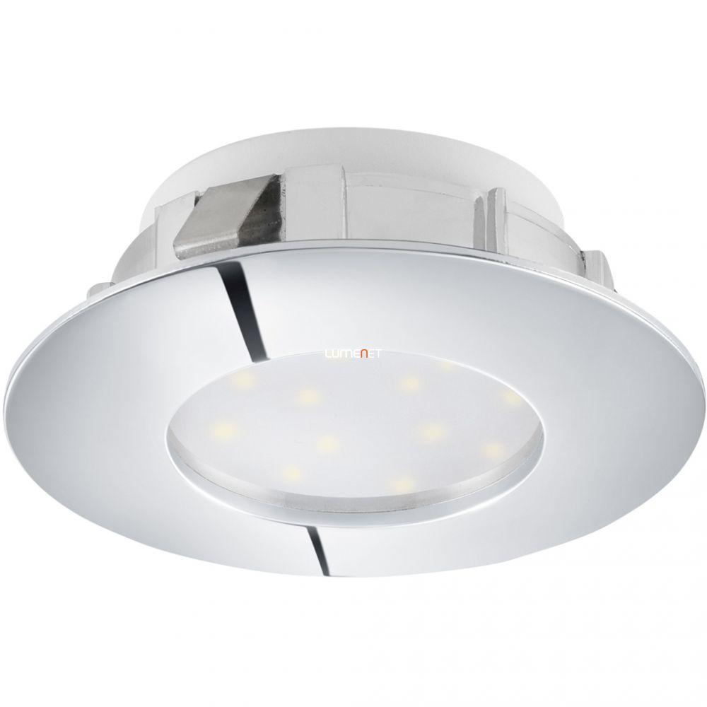 EGLO 95818 LED-es süllyesztett 6W 7,8cm króm fix Pineda