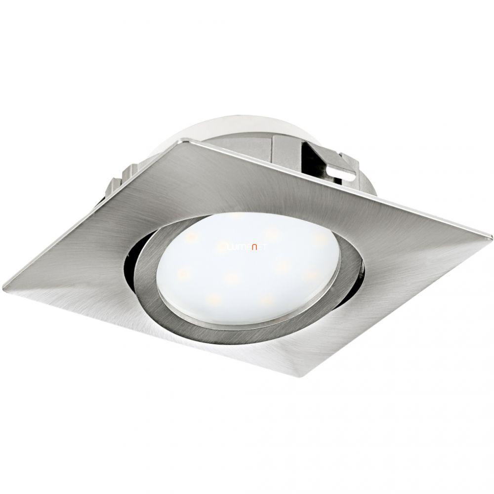 EGLO 95843 LED-es süllyesztett 6W 8,4cm szögletes matt nikkel Pineda