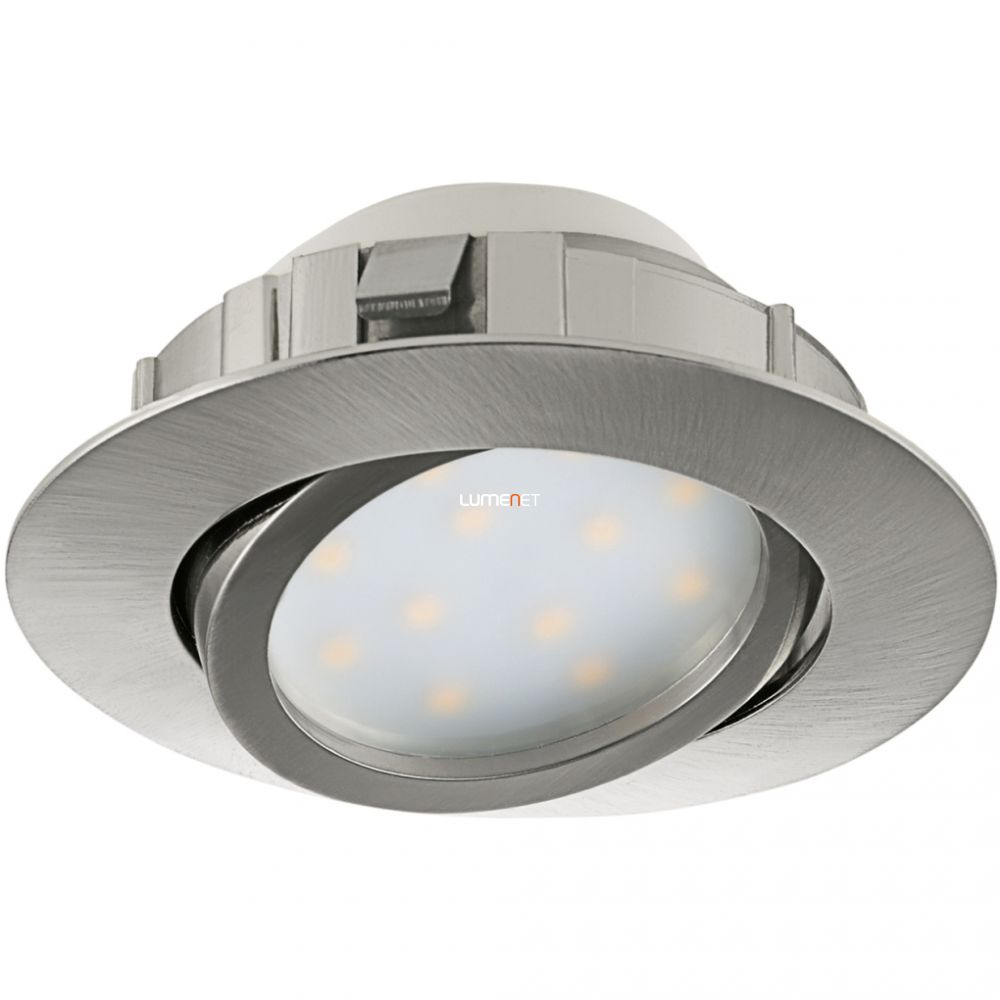 EGLO 95856 LED-es süllyesztett 6W 8,4cm matt nikkel Pineda