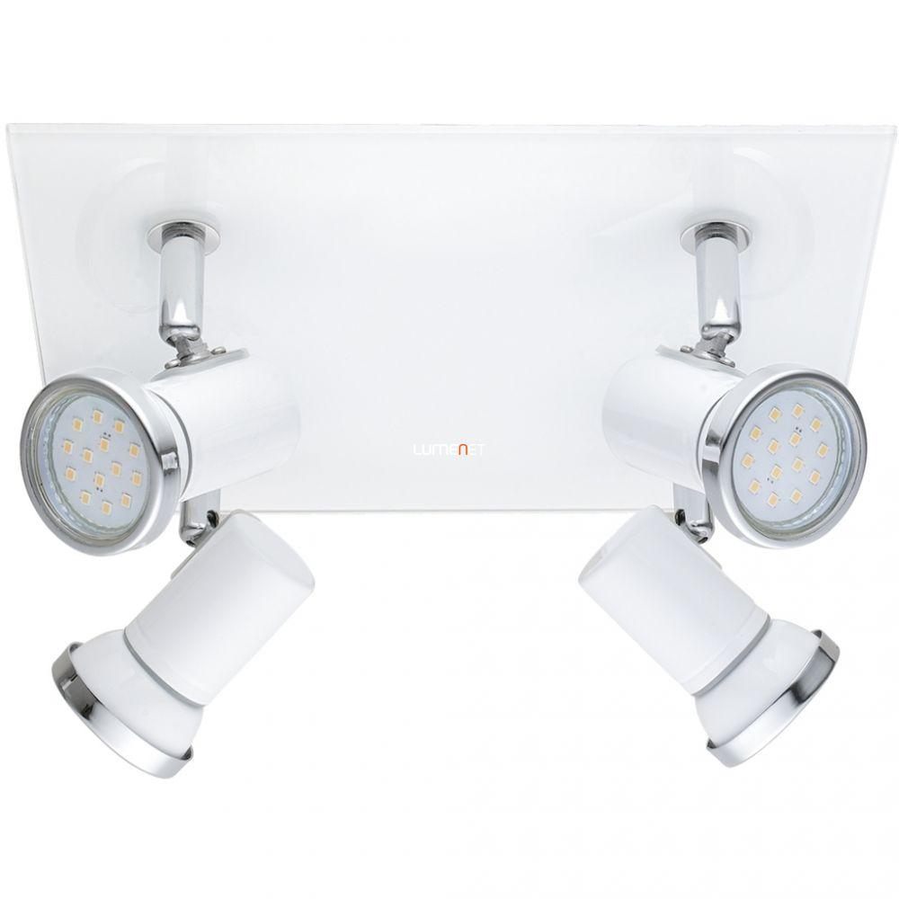 EGLO 95995 LED-es mennyezeti lámpa GU10 4x3,3W fehér/króm IP44 Tamara