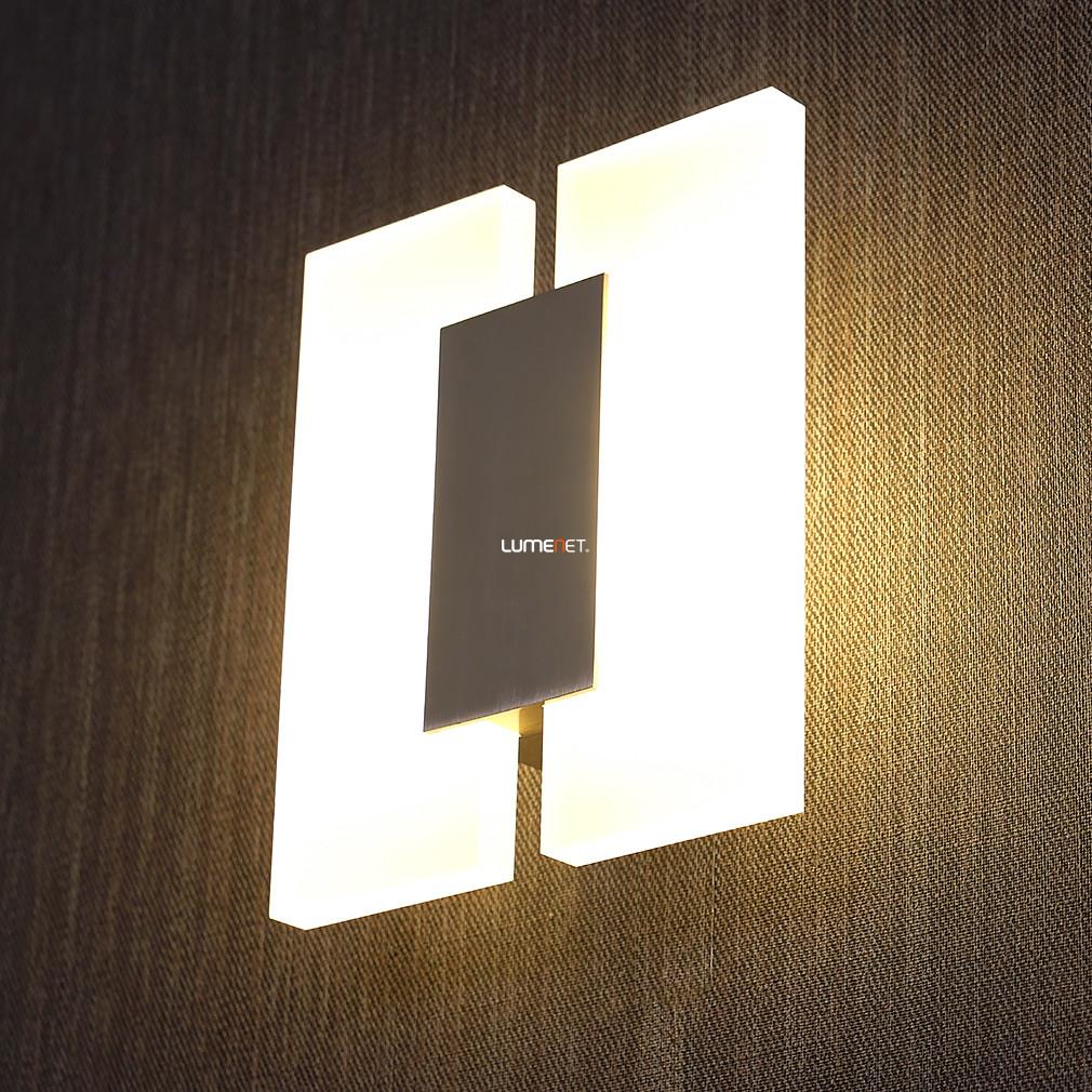EGLO 96043 LED-es fali lámpa 2x5W matt nikkel Metrass2