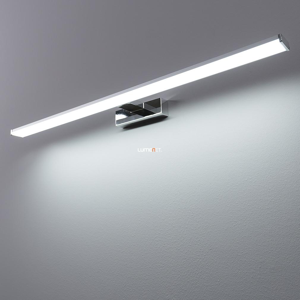 EGLO 96066 LED-es kép-/tükörmegvilágító lámpa 14W króm/ezüst 78cm IP44 Pandella