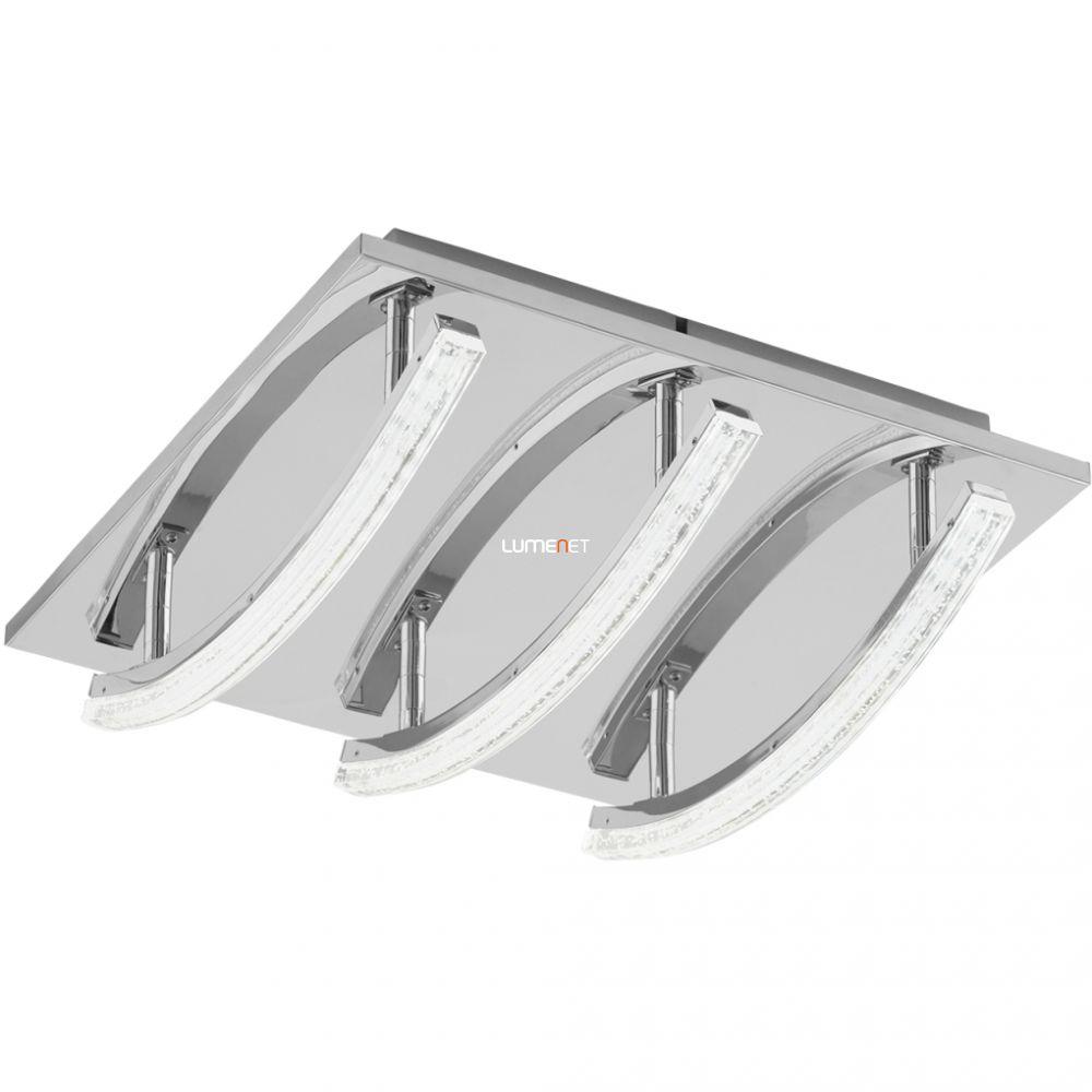 EGLO 96094 LED-es mennyezeti lámpa 3x4,2W 30x30cm króm/átlátszó Pertini