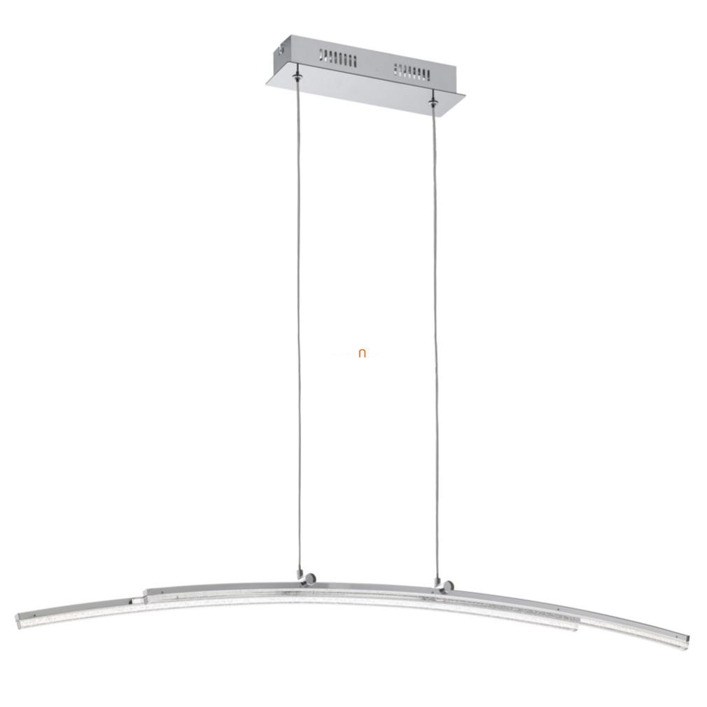 EGLO 96096 LED-es függeszték 21W 96cm króm/átlátszó Pertini