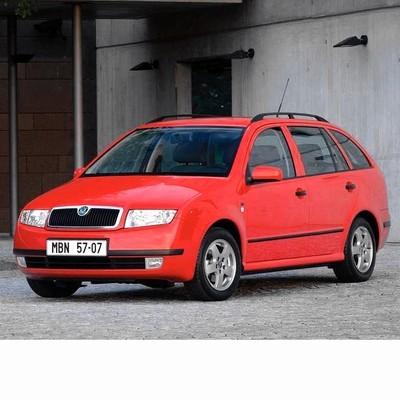 Autó izzók halogén izzóval szerelt Skoda Fabia Kombi (1999-2004)-hoz