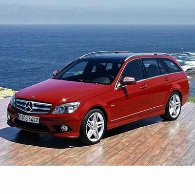 Autó izzók bi-xenon fényszóróval szerelt Mercedes C Kombi (2007-2010)-hoz
