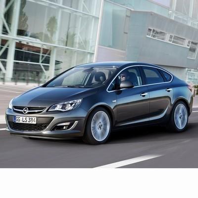 Autó izzók a 2012 utáni halogén izzóval szerelt Opel Astra J Sedan-hoz