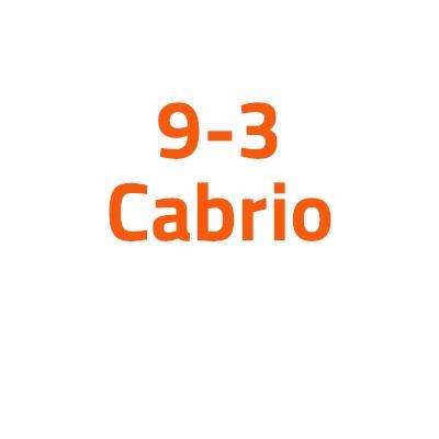 Saab 9-3 Cabrio autó izzó