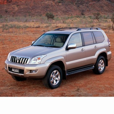 For Toyota Land Cruiser J12 (2002-2009) with Halogen Lamps