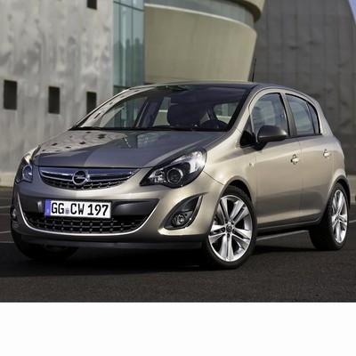 Autó izzók a 2011 utáni halogén izzóval szerelt Opel Corsa D-hez