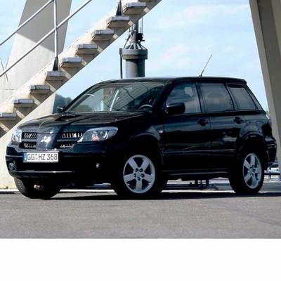 Autó izzók halogén izzóval szerelt Mitsubishi Outlander (2004-2006)-hez