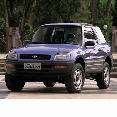 Autó izzók halogén izzóval szerelt Toyota RAV4 (1994-1997)-hez
