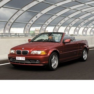 For BMW 3 Cabrio (2000-2001) with Halogen Lamps